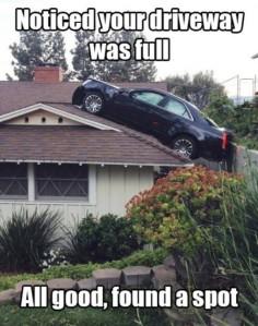 driveway-was-full